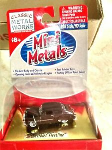 "1/87 HO Scale CMW Mini Metals ""51 Chevrolet Fleetline""  Mint"
