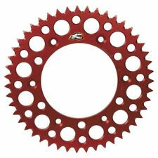 Renthal Coloured Motocross Sprocket Red 48T to fit Honda CR250 1987