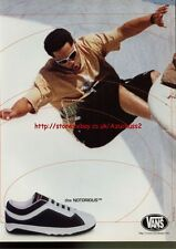 Vans The Notorious Trainers/Shoes 1996 Magazine Advert #3563