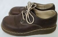 Dr. Marten's Air Wair Brown Leather Shoes Women's Size 5 Lace Up