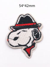 DIY dog Sewing Embroidery On Patch Stickers Badge Fabric Applique