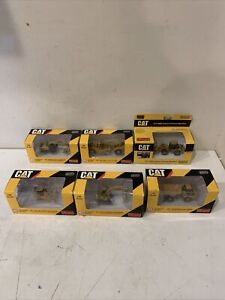 Lot of 6 Norscot Caterpillar  1/87 HO Scale NEW IN BOX
