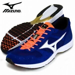 MIZUNO Running Shoes WAVE EMPEROR 3 J1GA1975 Blue Made In Japan With Tracking