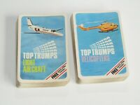 USED Vintage Top Trumps Bundle   Light Air Craft & Helicopter