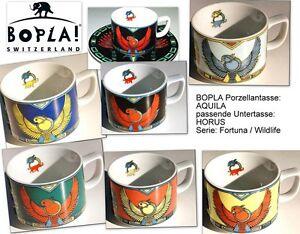 AQUILA BOPLA Porzellan Schweiz Kaffeetasse oder Teetasse