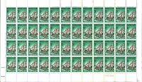 Australian Last 1915-1965 ANZAC Norfolk Island Stamps Sheet 48x 5d variety issue