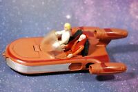 VINTAGE STAR WARS COMPLETE LANDSPEEDER + 2 ACTION FIGURES KENNER land speeder