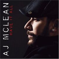 Have It All A.J. Mclean CD