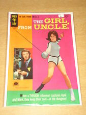 GIRL FROM UNCLE #4 VF+ (8.5) GOLD KEY COMICS AUGUST 1967