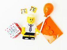 NEW! LEGO Minifigures 71021 MiniFigure Series 18 Birthday Party Boy Balloons