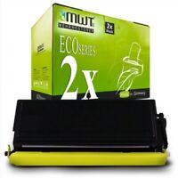 2x MWT Eco Cartucho Compatible para Brother HL-1250 MFC-9600 HL-P-2500 HL-1450