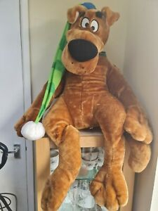 Very Rare Giant Scooby Doo, 50inches Excellent Condition, One Of A Kind Bed time
