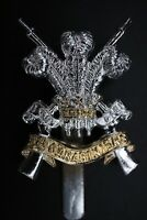 Staybrite 3rd Carabiniers (Prince Of Wales's Dragoon Guards) Cap Badge JR Gaunt