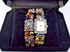 Fred Belay Stone Collection Women's Matching Watch & Bracelet Combo in Box