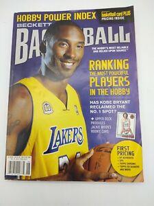 Beckett Basketball Card Plus Vol. 19, No 4 Issue #213 May/June 2008  Kobe Bryant