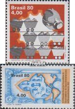 Brasilien 1756,1759 (kompl.Ausg.) postfrisch 1980 Steinkohleförderung, Entwicklu