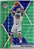 2019-20 Panini Prizm Green Mosaic Eric Paschall Rookie Card RC Warriors 📈🔥