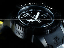 New Invicta Reserve Men's Arsenal Swiss Made Chrono BLACK OUT COMBAT Poly Watch