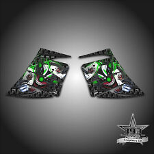 SKI-DOO REV MXZ SNOWMOBILE WRAP GRAPHIC SIDE PANEL DECAL 03-07 EVIL JOKER GREEN