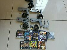 Large ps1/ps2 namco gun and time crisis bundle , Inc xtras like point blank