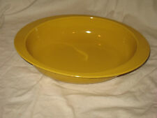 Cook & Serve by Vista Alegre Large & Oval Heavy Casserole Dish Gold Yellow
