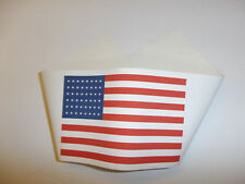 0270v WW2 US Army Airborne US Flag sleeve Armband 48 star water proof canvas R2B