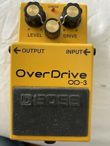 Boss OD-3 electric guitar overdrive pedal