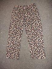 Leopard Women's Pajama Pants Size Medium