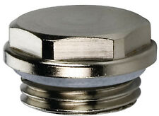 Montageset Aluminium Heizkörper Heizkörperventil 1 x 1//2 Anschlussset Entlüfter