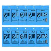 High Quality Electric Guitar String Replacement 1st E-String (.009) 10-Pack Z3R7