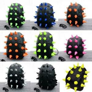 Unisex Hedgehog Spike Bag Backpack Punk Cosplay Shoulder Bag School Bags VICT