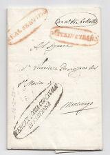 Z644-SICILIA-PREF.PARTANNA-MONTEVAGO 1843