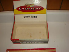 Cadillac Cigar Box, PA Tax Stamp VERY NICE!!!! Older Box Cadillac Car Emblem