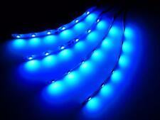 "RC LED's Blue LED Strip Bar Lights Superbright 4"" Traxxas X Maxx Revo Slash 4x"