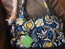 VERA BRADLEY Chain Bag ELLIE BLUE New With Tags, Rare, Retired, Elephants