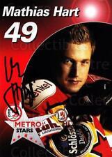 2003-04 German DEG Metro Stars Postcards #3 Mathias Hart