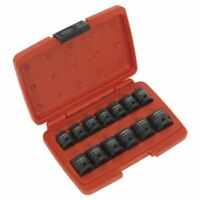 "Sealey AK5613LP Impact Socket Set 13pc 1/2""Sq Drive Low Profile Metric"
