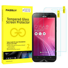 PASBUY 2 Pack Premium Tempered Glass Screen Protector for Asus ZF Zoom ZX551ML