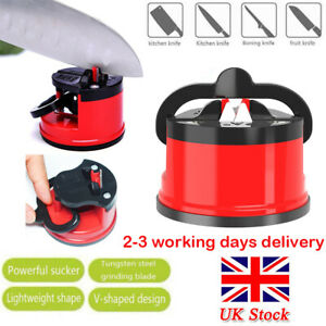 Knife Sharpener With Suction Pad Sharp Diamond For Knives Blades Sharping Tools