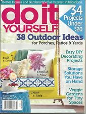 DO  IT  YOURSELF, SUMMER 2014, VOL. 21, ISSUE 2 (34 PROJECTS UNDER $20)