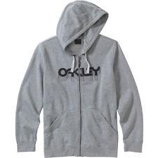 Oakley Factory Pilot Fleece XXL Full Zip Hoodie Sweatshirt Grey New Hot Wow L@@K