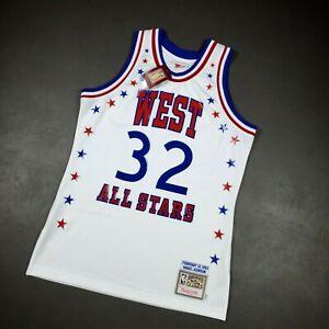 03 Uomini di Jersey Allen Iverson Conference Orientale Mitchell e Ness 2004 all-Star Classic Jersey-Blu Felpa T-Shirt S-XXL LDFN Maglia Basket No