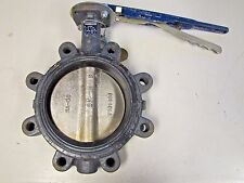 """NIBCO LD3010 DI STAINLESS SS STEM EPDM 250°F 250 PSI 6"""" 8 BOLT BUTTERFLY VALVE"""