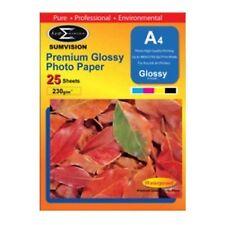 Sumvision Brillant A4 Photo Papier 230gsm - 25 Sheets