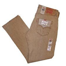 Levis 501 Jeans Men's Levi's Original Fit Stretch Desert Wood 5012967