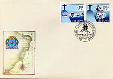 Lithuania 2016 FDC Summer Olympic Games Rio 2v Cover Swimming Olympics Stamps