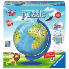 Ravensburger 3D Puzzle Children's World Globe #1 (180 Piece) NEW
