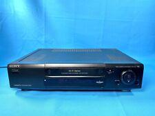 SONY SLV-E710 Video Cassette Recorder VHS Smart VCR Black FULLY TESTED