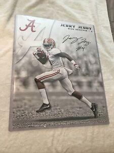 Jerry Jeudy Autographed 16x20 Photo Alabama Crimson Tide Beckett COA Signed