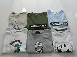 Volcom Boys Youth Tshirts Nwt